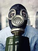 Inquinamento in città — Foto Stock