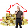 Buy house — Stock Photo