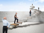 Knowledge stair — Stock Photo