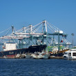 Kaohsiung Container Loading Dock — Stock Photo