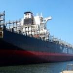 Large Transport Vessel — Stock Photo