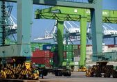 Kaohsiung Container Terminal — Stock Photo