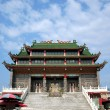 Traditional Chinese Folk Religion Temple - Stock Photo