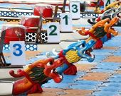 Chinese Dragon Boats in Taiwan — Stock Photo