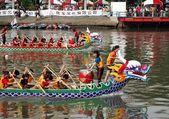 Olay yerinden 2012 ejderha tekne yarışları, kaohsiung, tayvan — Stok fotoğraf