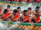 Scene from the 2012 Dragon Boat Races in Kaohsiung, Taiwan — Stock fotografie