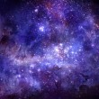 Nebula gas cloud in deep outer space — Stock Photo