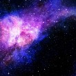 Starry deep outer space nebual and galaxy — Stock Photo #11686174
