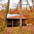 Settlers cabin in missouri — Stock Photo
