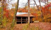 Settlers cabin in missouri — Stock Photo