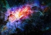 Galaxy y espacio profundo estrellada nebulosa — Foto de Stock