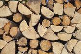 Drewno kominkowe. — Zdjęcie stockowe