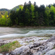 Dunajec river. — Stock Photo
