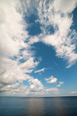 Cloud and sea. — Stock Photo