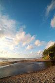 Duny v baltském moři. — Stock fotografie