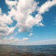 Stock Photo: Clouds over Baltic sea.