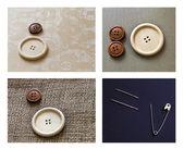 Sewing Needle Set — Stock Photo