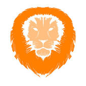 Sketch of lion's head for your design — Stock Vector