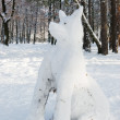 Stock Photo: Snowdog