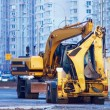Yellow bulldozer — Stock Photo #10789176