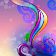 Royalty-Free Stock Photo: Colourful abstract illustration background