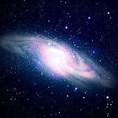 Space galaxy image — Stock Photo