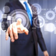 Virtual technology in business — Stock Photo #11035089
