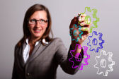 Engineering and design image — Stock Photo