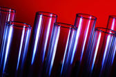 Glass chemistry tubes — Foto de Stock