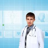 Ilaç ve teknoloji — Stok fotoğraf