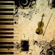 Music notes background — Stock Photo #11137227