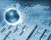 Imagem de tecnologia global — Foto Stock