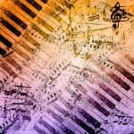 Music notes background — Stock Photo #11168043