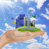 Ecologia ed energia sicura — Foto Stock