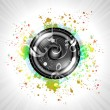 Image of music speaker — Foto de Stock