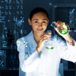 Young scientist in laboratory - Lizenzfreies Foto
