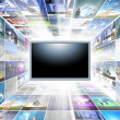 A flat screen television — Stock Photo #11320415
