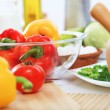 Fresh healthy food — Stock Photo
