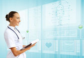 Medicine and technology — Stock Photo