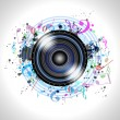 Image of music speaker — Stock Photo