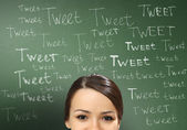 Mod sociala medier — Stockfoto