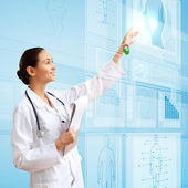 Medicine and technology — Foto Stock