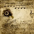 Music notes background — Stock Photo #11741506
