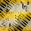 Music notes background — Stock Photo #11741593