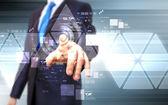 Tecnologia virtuale nel business — Foto Stock