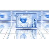 Počítačové obrazovky — Stock fotografie