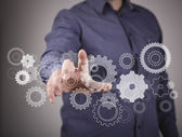 Engineering en ontwerp afbeelding — Stockfoto