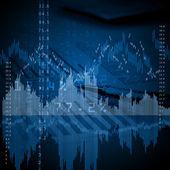 Wykresy i finansowe — Zdjęcie stockowe