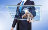 Tecnologia em negócios — Foto Stock