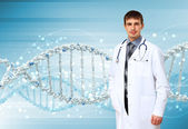 Dna strand illustratie — Stockfoto